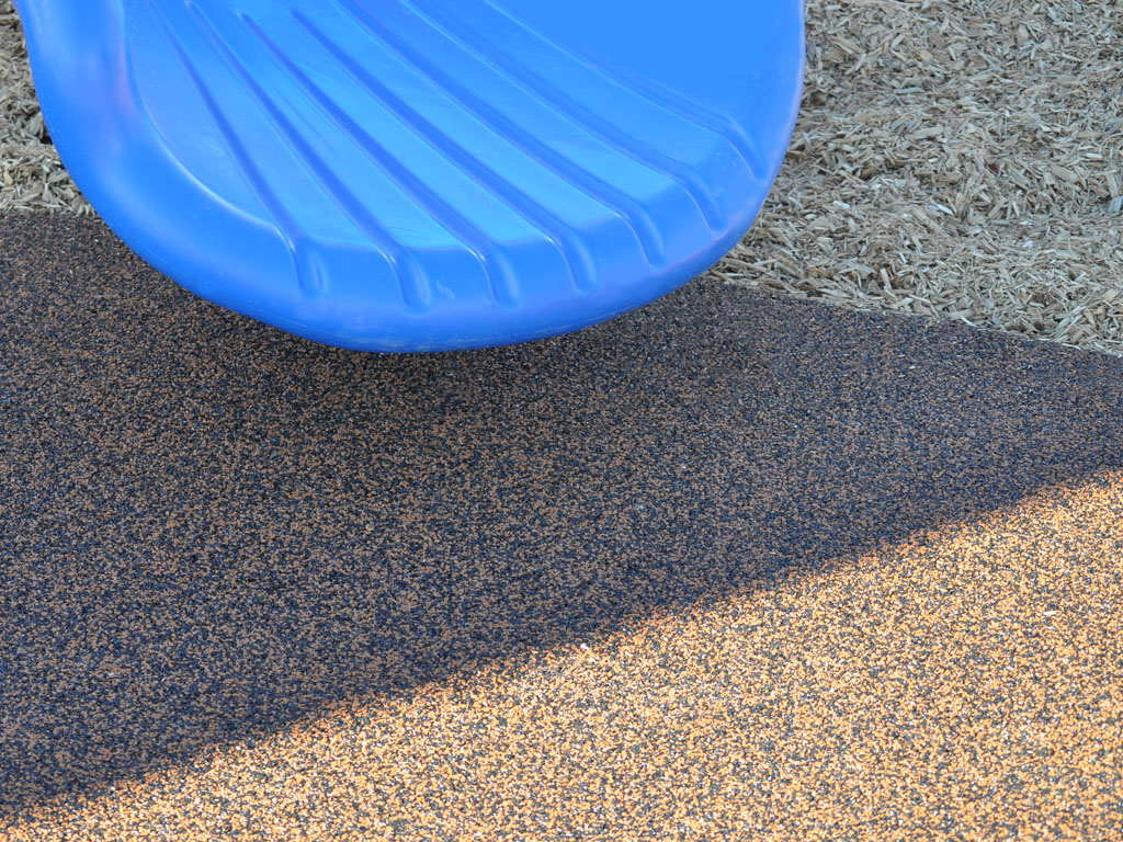 Slide exit into Rubber Surfacing by ARS